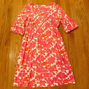 Lilly Pulitzer Bell Sleeve Dress Small